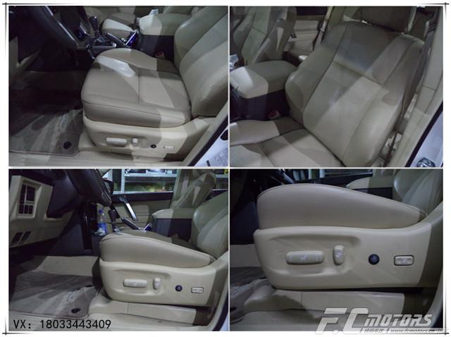 深圳锋程专业座椅改装 丰田普拉多座椅升级通风改装案例