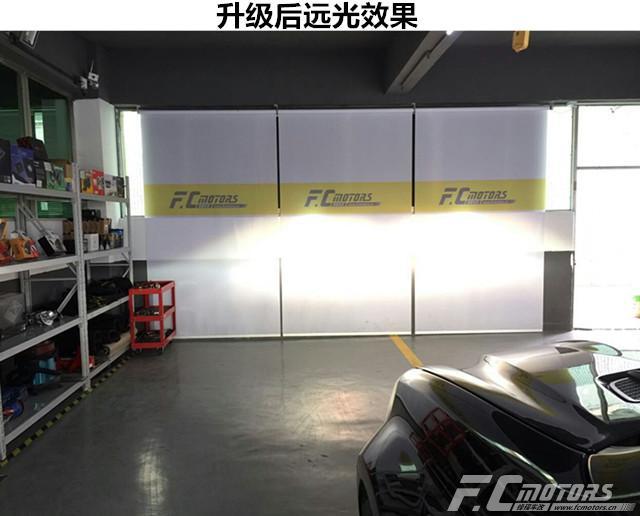 东莞改灯【锋程车改】奔驰GL350原车灯太暗升级原装进口 ...��3��