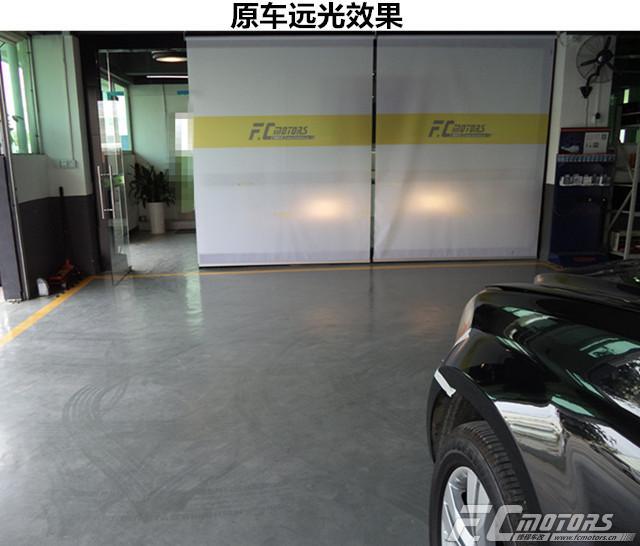 东莞改灯【锋程车改】奔驰GL350原车灯太暗升级原装进口 ...��4��