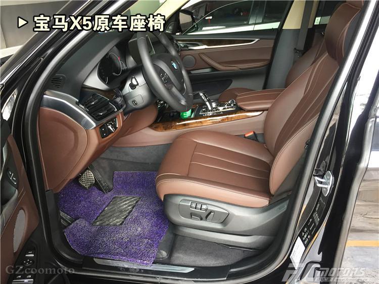 广州番禺宝马x5前排两位升级改装怡然座椅通风系统广州锋程车改